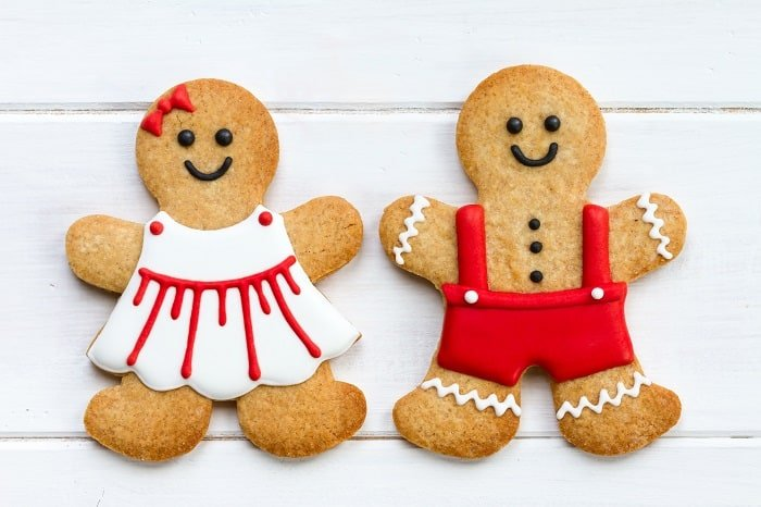 Putting Your Gingerbreadman Icing on Cookie