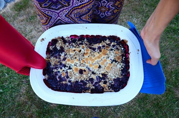 What You Will Need for This Blackberry Cobbler With Cake Mix Step by Step