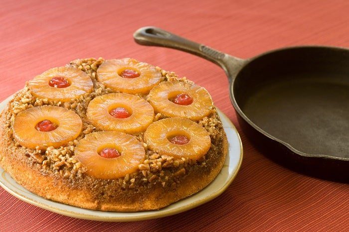 The Easiest and Best Pineapple Upside-Down Cake Recipe Add Dry Ingredients Let Cool