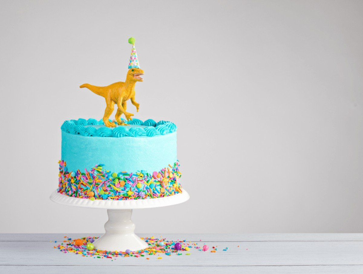 The Best Birthday Cake with Sea Foam Frosting