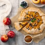Amazing Peach Pie with Canned Peaches