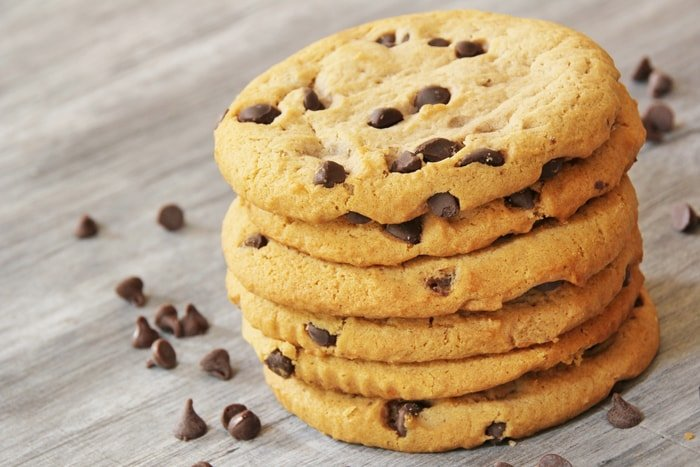 Perfect cookies, not flat