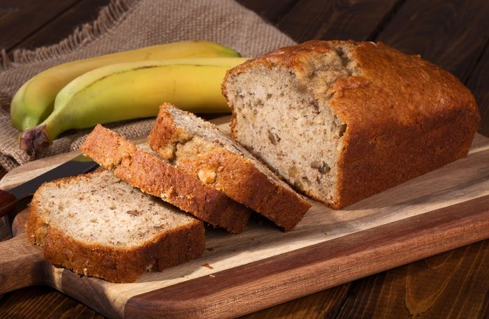banana bread no eggs History
