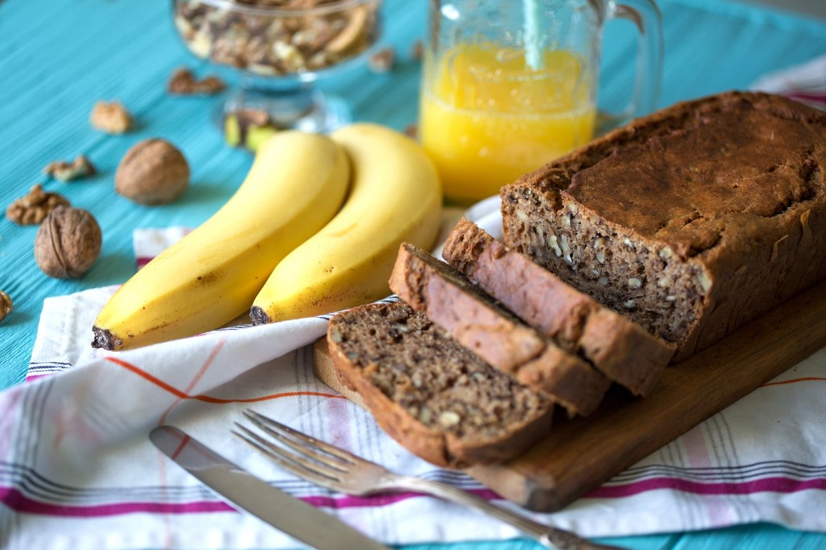 Easy Banana Bread Without Eggs