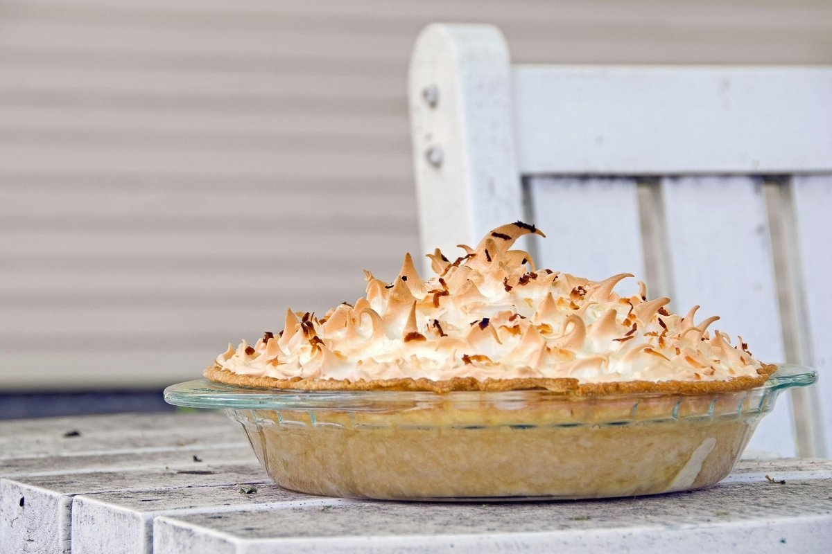 Amazing Coconut Cream Pie with Meringue Topping