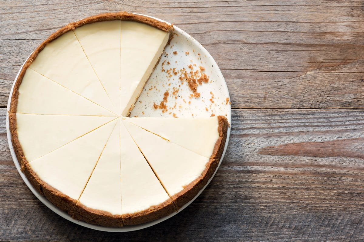 The Easiest Way To Tell If Cheesecake Is Done