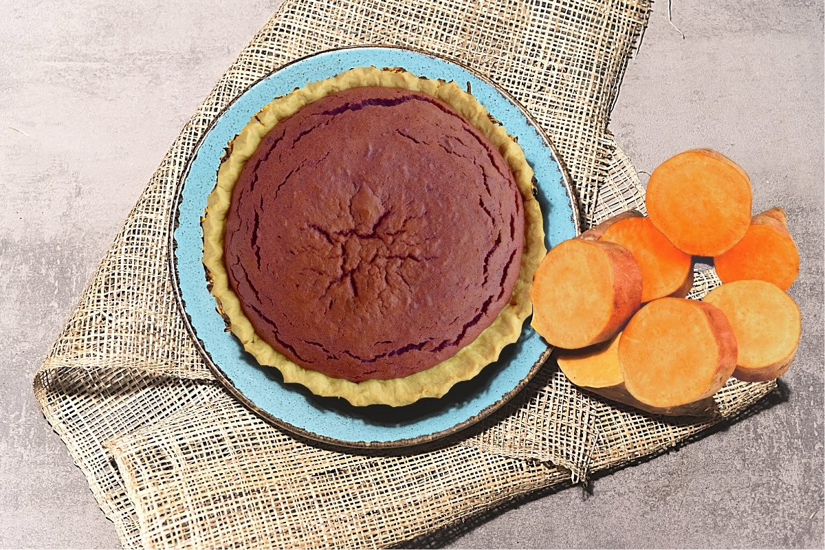 Mouthwatering Pie With Canned Sweet Potato
