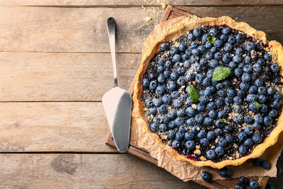 Amazing Blueberry Pie That Is Not Runny
