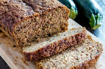 Healthy Sugar-Free Zucchini Bread Recipe