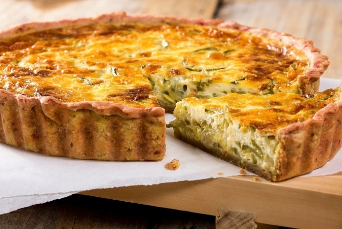 What To Do With Pie Crusts - Quiche