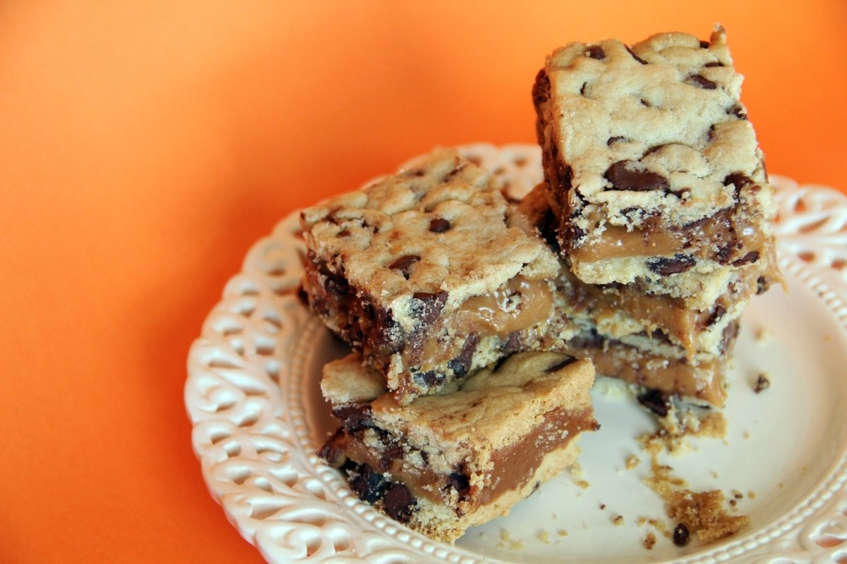 Chocolate Chip Reese's Cheesecake Bars
