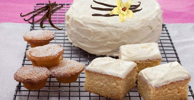 Easy Vanilla Bean Cake Recipes From Scratch