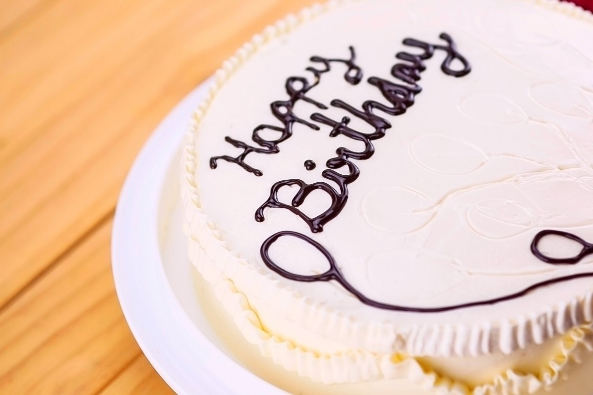 How to Write on a Cake without a Piping Bag