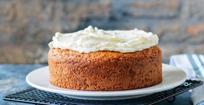 Moist Sour Cream White Cake Recipe From Scratch