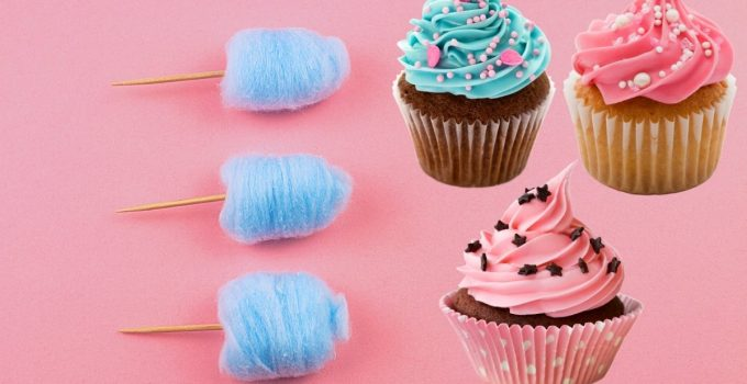 Amazing Cotton Candy Cupcakes Recipe from Scratch
