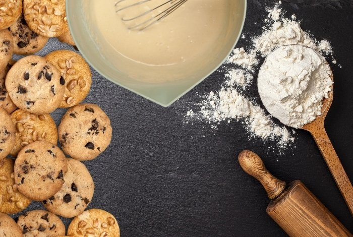 Flour - stabilizer and thickener in cookies