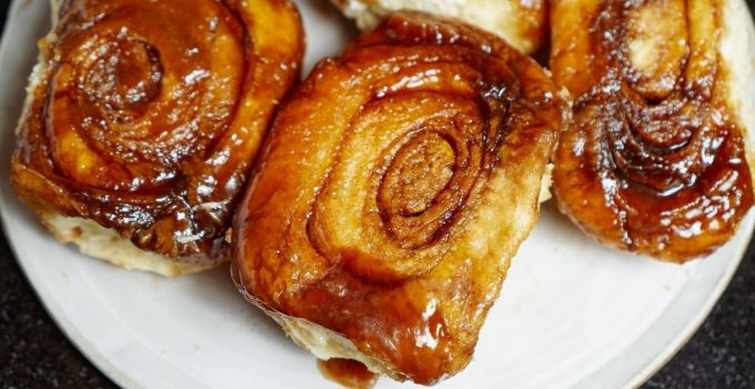 Delicious Sticky Buns With Frozen Bread Dough And Butterscotch Pudding