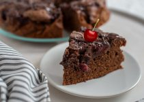 Delicious Chocolate Cherry Cake From Scratch