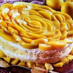 Delicious Peaches and Cream Cake From Scratch