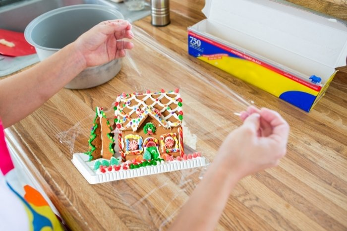 How Do You Store a Gingerbread House