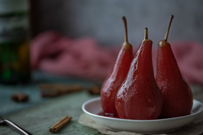 Simple Poached Pear Recipe Without Wine